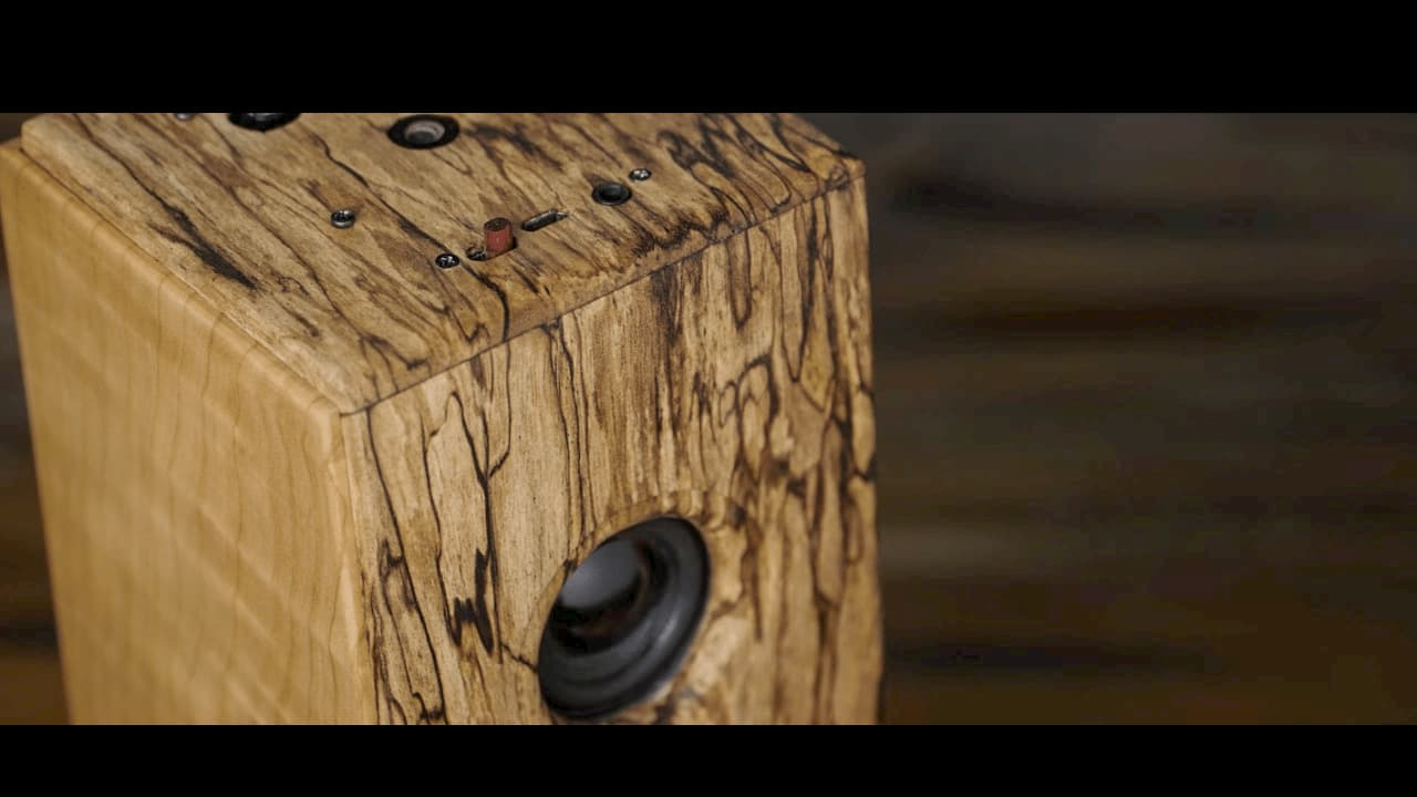 藍芽喇叭DIY 換上原木質感大提升